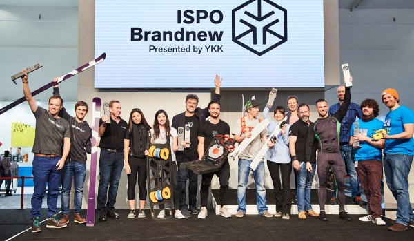 These are the winners of ISPO Brandnew 2019. The award ceremony for the best newcomers in the sports industry has been taking place for 19 years.