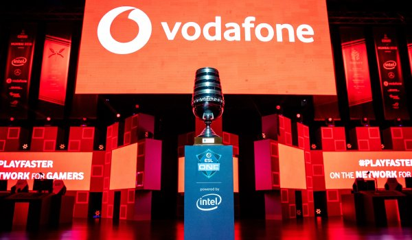Vodafone is a sponsor of the major ESL tournaments around the world.
