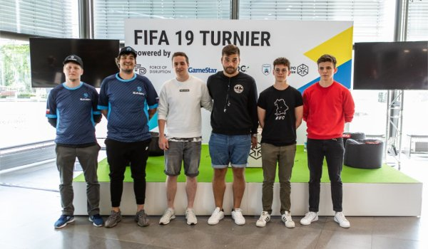 The winners of the FIFA Tournament