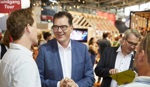 OutDoor by ISPO 2019 - Minister Dr. Gerd Müller