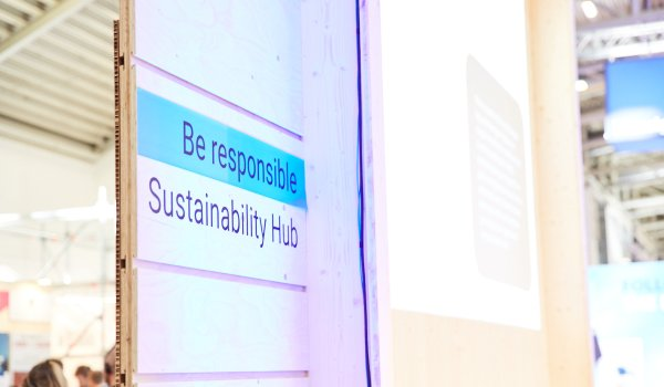Sustainability Hub auf der ISPO Munich 2020