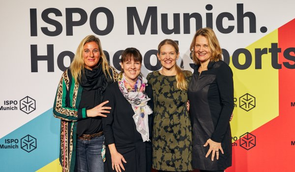 Elke Vetter (Managing Director VAUDE Sport GmbH & Co. KG), Stephanie Herrling (PR Bike Sports VAUDE Sport GmbH & Co. KG), Antje von Dewitz (CEO VAUDE Sport GmbH & Co. KG), Martina von Dewitz (Beirat VAUDE Sport GmbH & Co. KG)