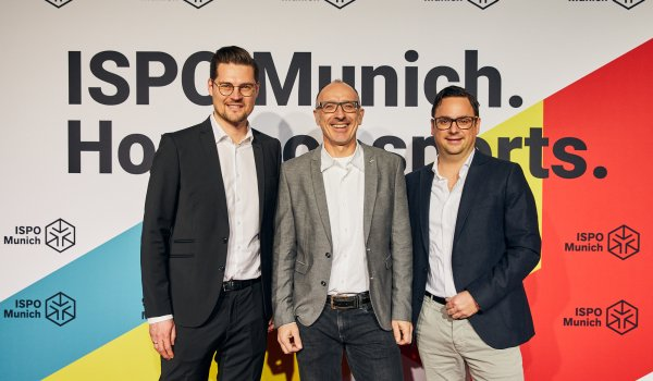 Benedikt Schlichting (Business Leader Performance Wear - Garments W. L. Gore & Associates), Jürgen Kurapkat (PR Gore Wear, globales Athletensponsoring und Event-Management), Achim Löffler (Global Business Leader GORE-TEX Apparel and Footwear Consumer Business)