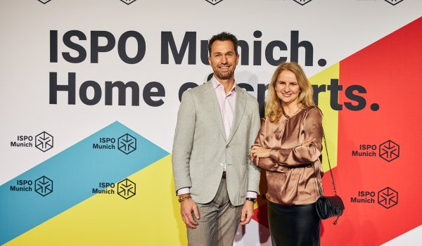 Stephan Grabmeier (Grameeen Social Lab), Aleksandra Solda-Zaccaro (Chief Marketing & Communications Officer Messe München GmbH)