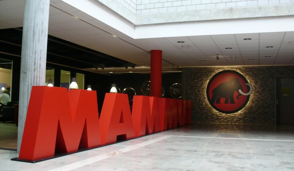 Entrance to the Mammut headquarter.