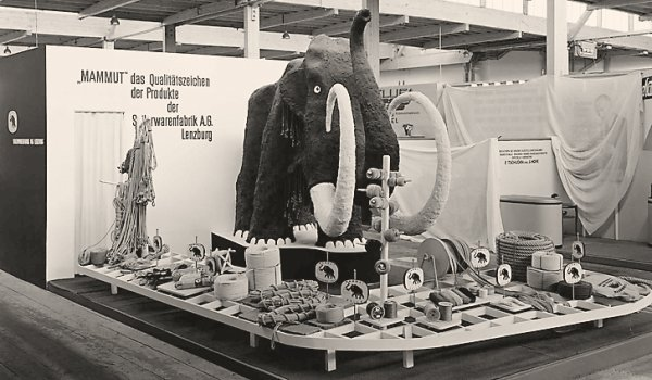 A Mammut stall back in the days.