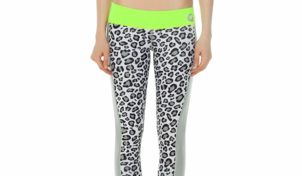 GlideSoul – Active lifestyle  - Leggings Leopard + Yoga top