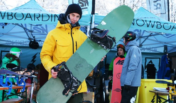 Max Anselstetter, K2 Snowboards.