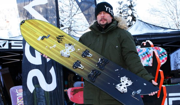 Peter Frank, Jones Snowboards.