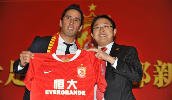 Fußball-Stars in der Chinese Super League