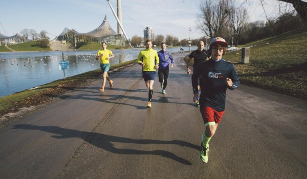 Ultraläufer Florian Neuschwander startet beim Wings for Life World Run in München.