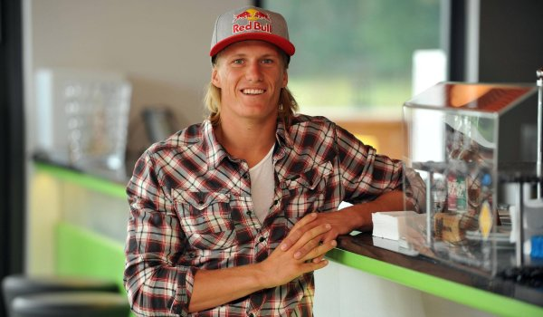 The local hero: Dominik Gührs is a Munich native and the most successful German wakeboarder.
