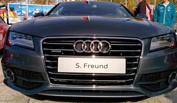 Audi is also one of Severin Freund's sponsors.
