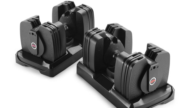 The intelligent dumbell from Bowflex is the perfect training partner – and winner in the category Health & Fitness.