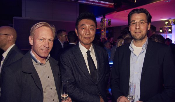 Martin Kössler (CEO HuginBiz), Takaya Miyoshi (Senior Associate Information Center Japan), Claes Forsberg (CEO Svenskt Sportforum).