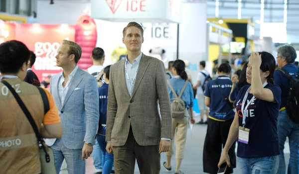 No matter how the message is delivered, Thomas Löffler, Chief Financial Officer of Messe München Shanghai, seems to be very satisfied