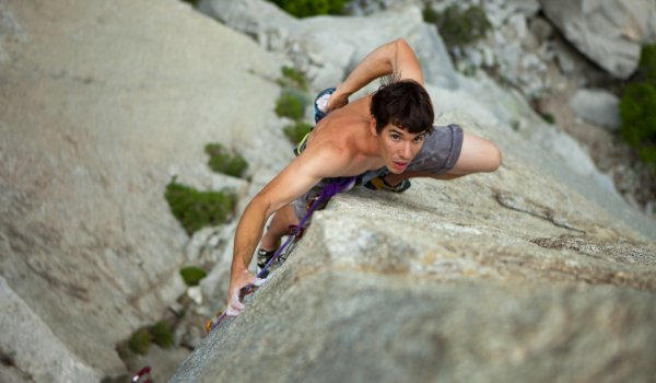"Alex ""No Big Deal"" Honnold is the best free solo climber in the world."