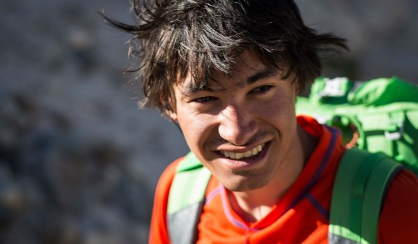 The Alpinist David Lama.