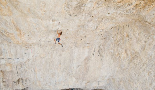 Chris Sharma is the first climber of several routes in the confirmed grade 9b.