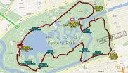 ISPO Shanghai Morning Run parcours map