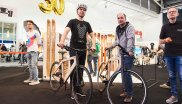Overall winners at ISPO Brandnew 2018 were the innovative wooden bikes from My Esel.