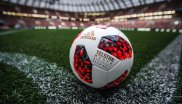 "Adidas has been supplying the official World Cup match ball since 1970 and has also been a ""permanent partner"" since the 1998 World Cup. The company from Herzogenaurach has come up with something special for the knockout round in Russia: From the round of 16 the teams will play with the red and white ball Telstar Mechta."
