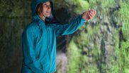 Robust and waterproof: The Blackyak Brangus jacket also keeps you nice and dry in a rain shower.