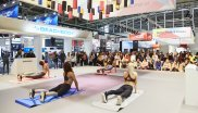 Yoga Demonstraton ISPO Munich