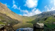 Pflege des 'Old Man of Coniston', UK.