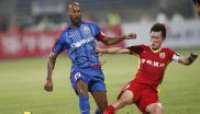 Football stars of the Chinese Super League