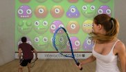 Gambling and playing sports at the same time: interactiveSquash makes it possible.