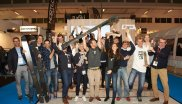 This is what winners look like! Jubilation among the ISPO AWARD winners in the Ski segment.