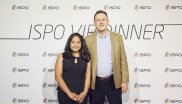 Shailja Bihari und Nick Brown (CEO Nikwax Ltd.)