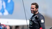 Aboard his race boat professional sailor Sir Ben Ainslie wears modest sports textiles. This changes dramatically after competition: Then the four times Olympic champion Ainslie sticks with the handsome things he is sponsored with: Apparel brand Henry Lloyd and Zenith luxury watches for example. But also Land Rover is one of his 'noble' supporters.