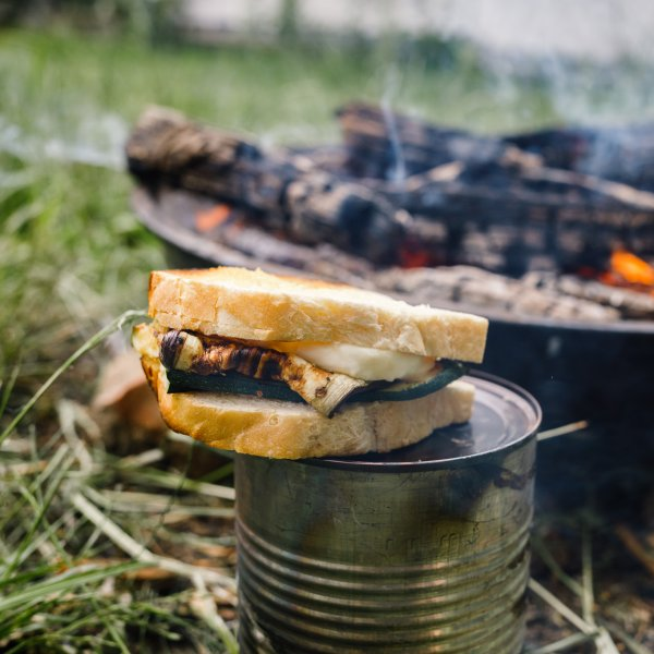 Simple outdoor dish: The Hobo sandwich