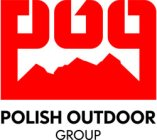 Polsih OutDoor Group (POG) Logo