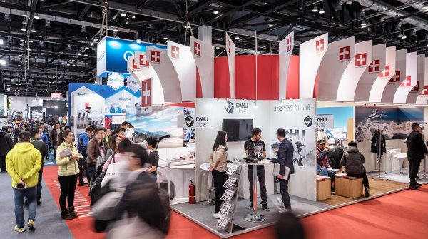Exhibition stand Switzerland
