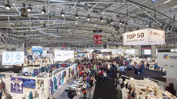 ISPO Brandnew stage in hall B5.