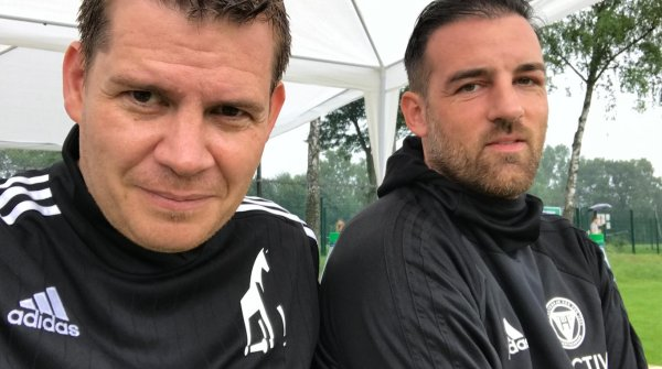 Raphael Brinkert (left) and German former national soccer player Christoph Metzelder are managing directors of Jung von Matt/sports.