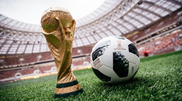 The Adidas Telstar 18 is the official match ball for the FIFA World Cup 2018.