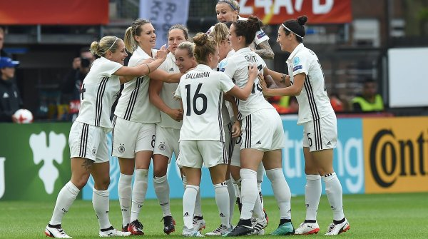 Women's football has been a quota earner in Germany for years.