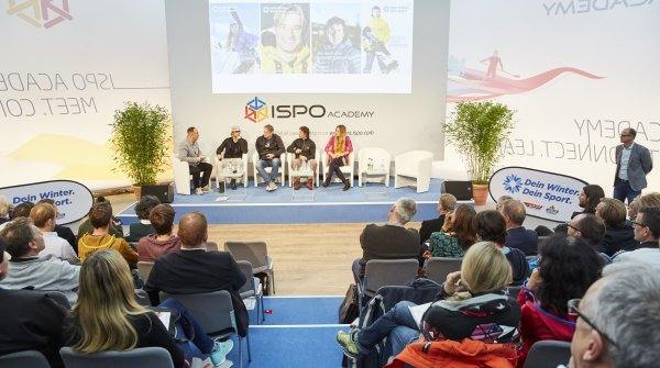 The ISPO Academy stage