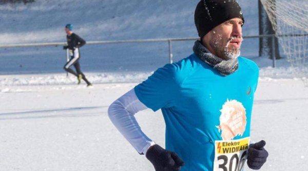 Even snow can't stop a runner from competing: Sebastian Hallmann gives tips for the ISPO Munich Night Run on January 27 at ISPO.com.