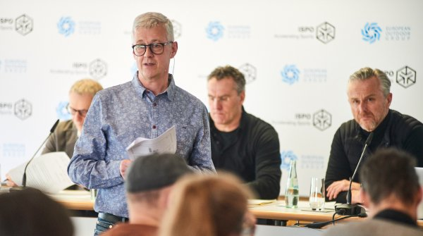 Press conference of the EOG at ISPO Munich 2018