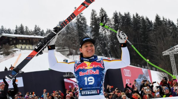 Rossignol athlete Thomas Dreeßen has won the world famous downhill race in Kitzbühel.