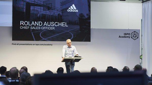 Adidas-Vertriebsvorstand Roland Auschel