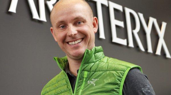 Jon Hoerauf ist General Manager von Arc'teryx