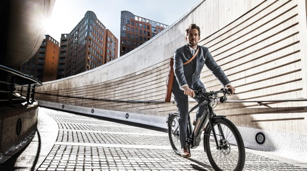 Neue Trends: Ein E-Bike von Diamant.