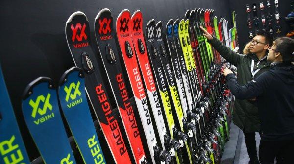 Gefragt: Ski-Produkte bei der ISPO Beijing.