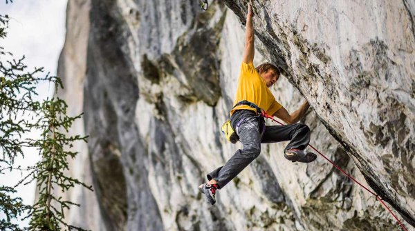 Alex Megos from Erlangen is one of the world's top climbers.